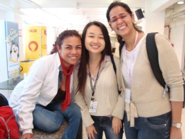 Mis compañeras en Hospital Das Clinicas